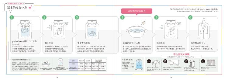 基本の洗い方紹介ページ