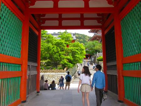 京都の一人旅