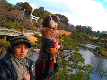 初詣・熊本水前寺2012
