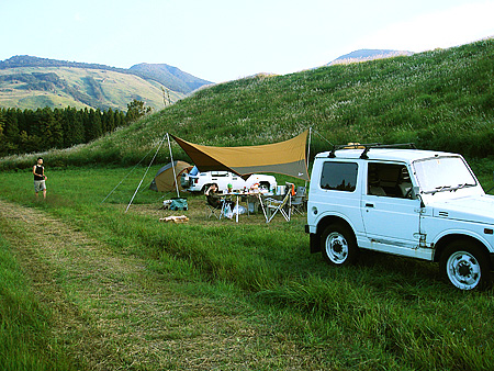 ローズガーデンでキャンプ01