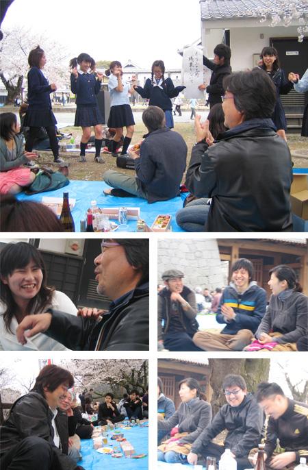熊本城お花見2008