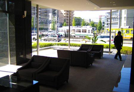 熊本タワーマンションロビー