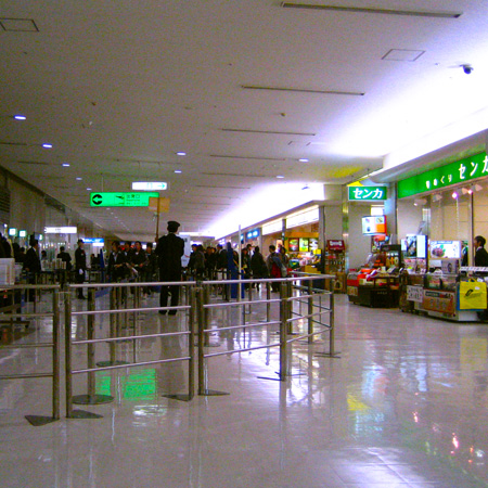 大阪伊丹空港で