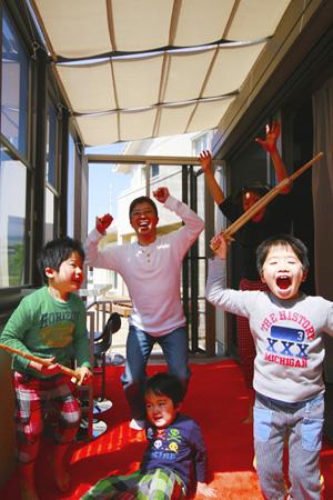 熊本ホームページ製作で撮影・元気な家族02
