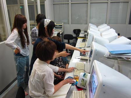 熊本デザイン専門学校の風景3