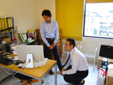 熊本ホームページ制作会社・サンワードさんとの打ち合わせ2