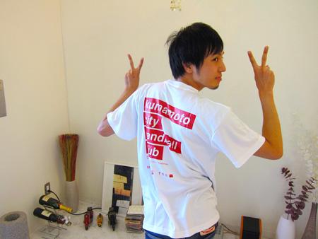 ホームページ作成熊本・松原Tシャツ