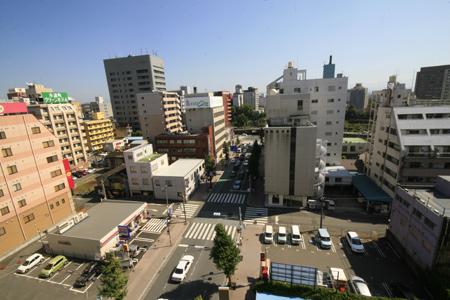 熊本・銀座通りで屋上緑化!03