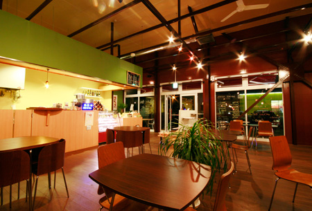 cafe3店内