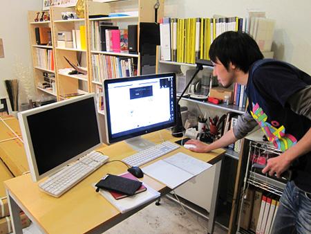 熊本 ホームページ制作 デュアルディスプレイ