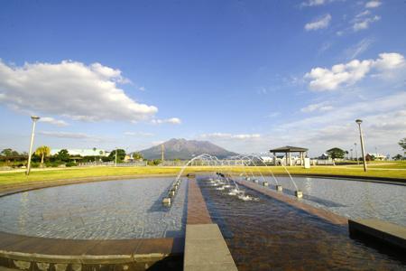 鹿児島の桜島