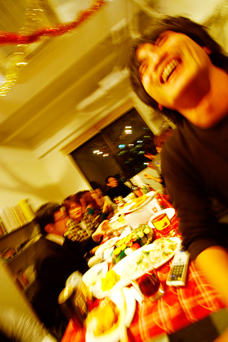 クリスマスパーティー2008!!