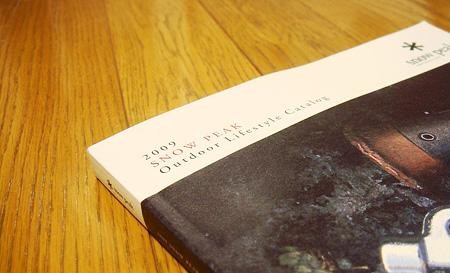 スノーピークのカタログ2009