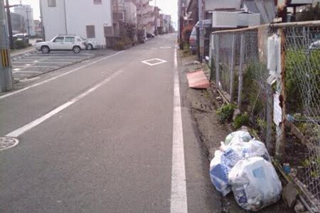友田デザイン事務所のゴミの日