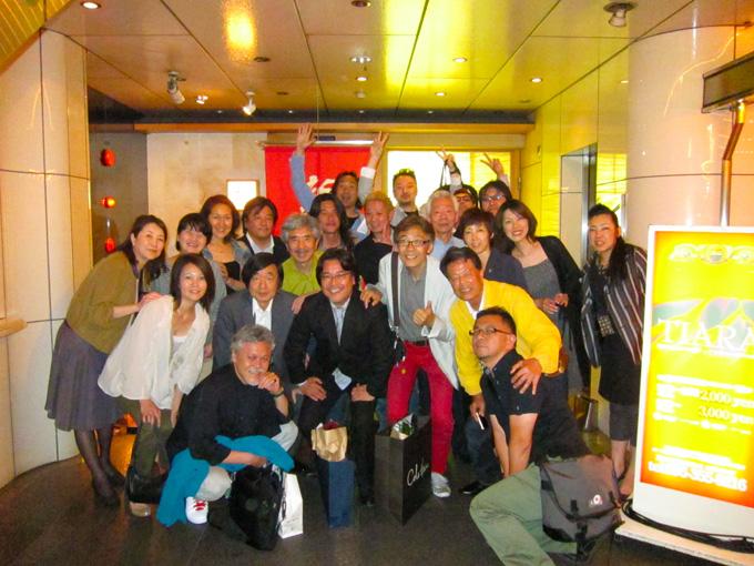 JAGDA熊本・還暦御祝い・広告会社デザイナーの集まり