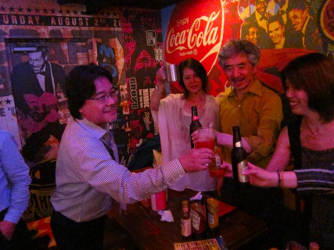 JAGDA熊本・還暦御祝い・2次会・広告会社デザイナーの集まり