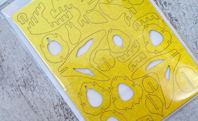 熊本のホームページ制作会社/金魚紙模型その2