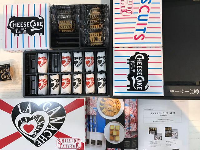 1/20のお菓子資生堂パーラー