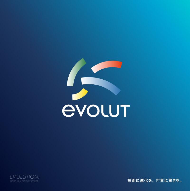 EVOLUT シンボルマーク・ロゴタイプ