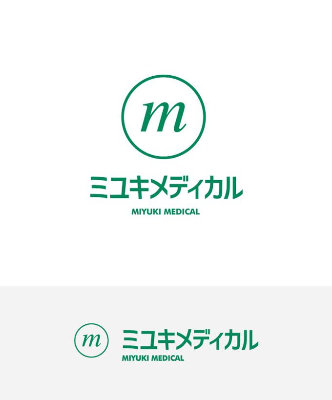 ミユキメディカル ロゴタイプデザイン