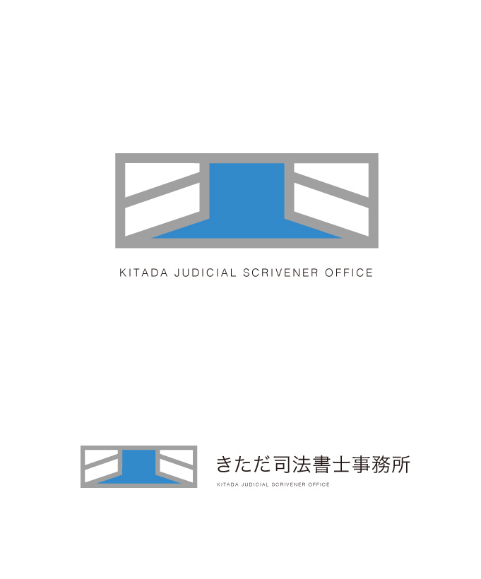 きただ司法書士事務所 ロゴマークデザイン