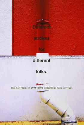 fusion Autumn-Winter Collection 2001-2002