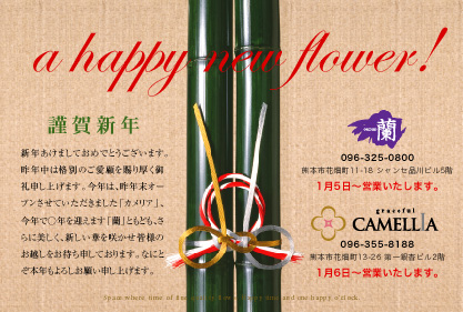 CAMELLIA New Year