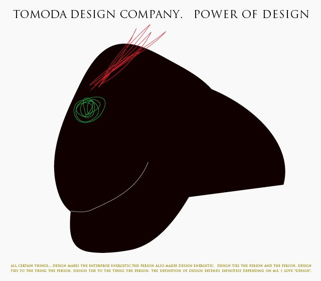 「POWER OF DESIGN」 TOMODA DESIGN COMPANY