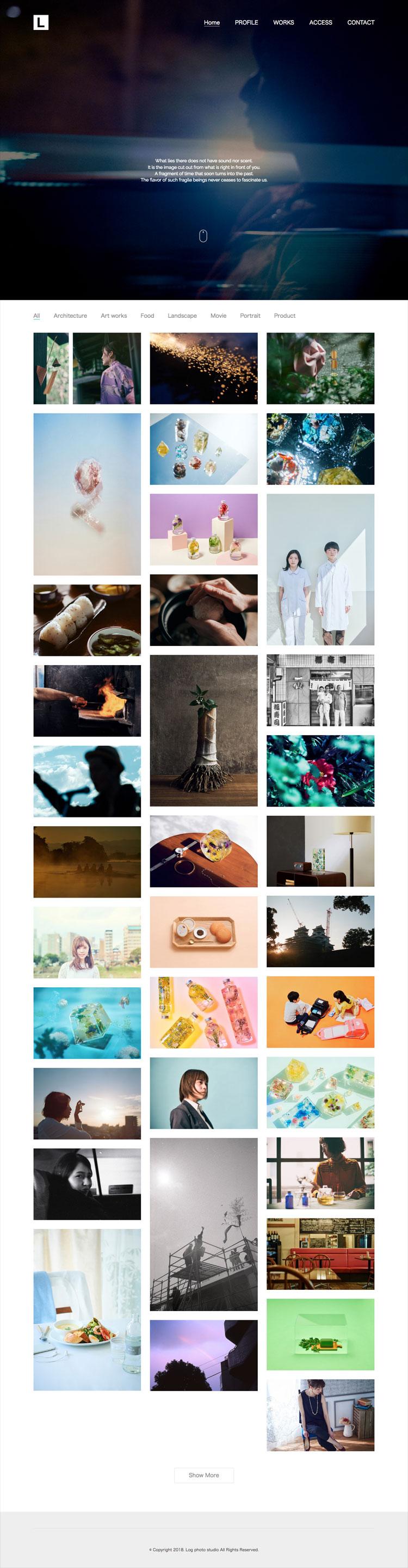 Log photo studio